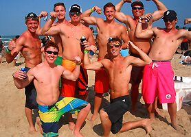 Bachelor Party Beach Dominican Republic