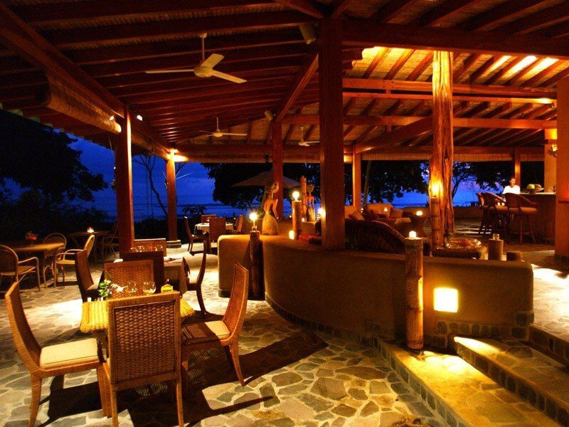 Santo Domingo Las Terrenas Restaurant Night