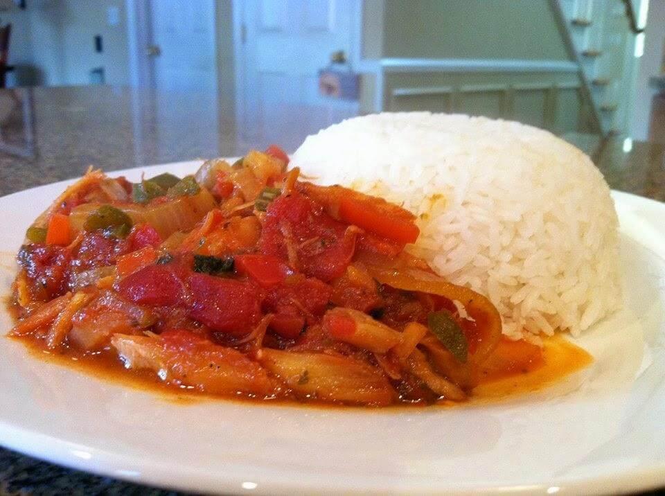 Bacalao Guisado Dominican Cuisine