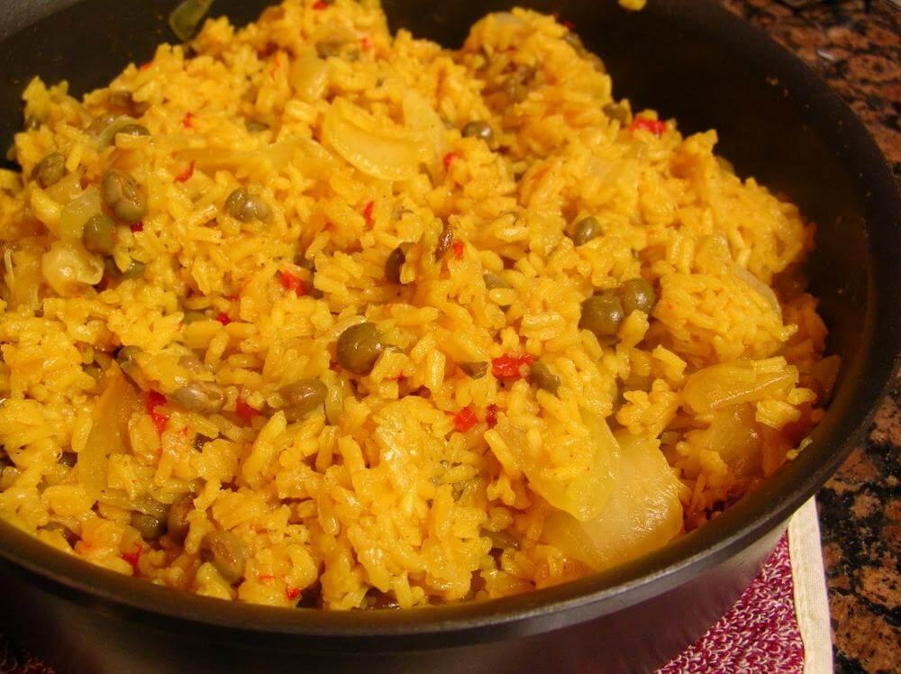 Moro De Guandules Dominican Food