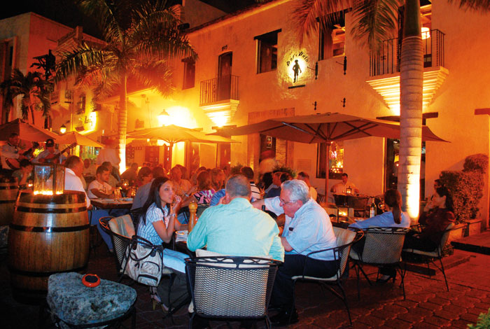 Plaza Espana Restaurants Colonial Zone