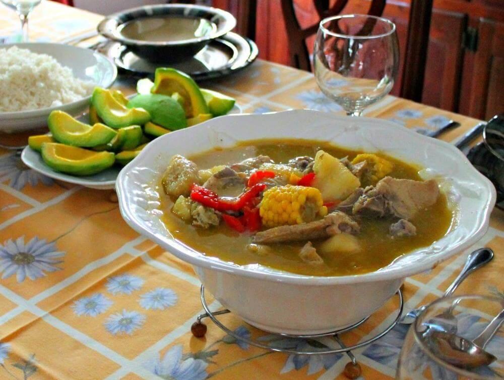 Sanchocho Dominican Food
