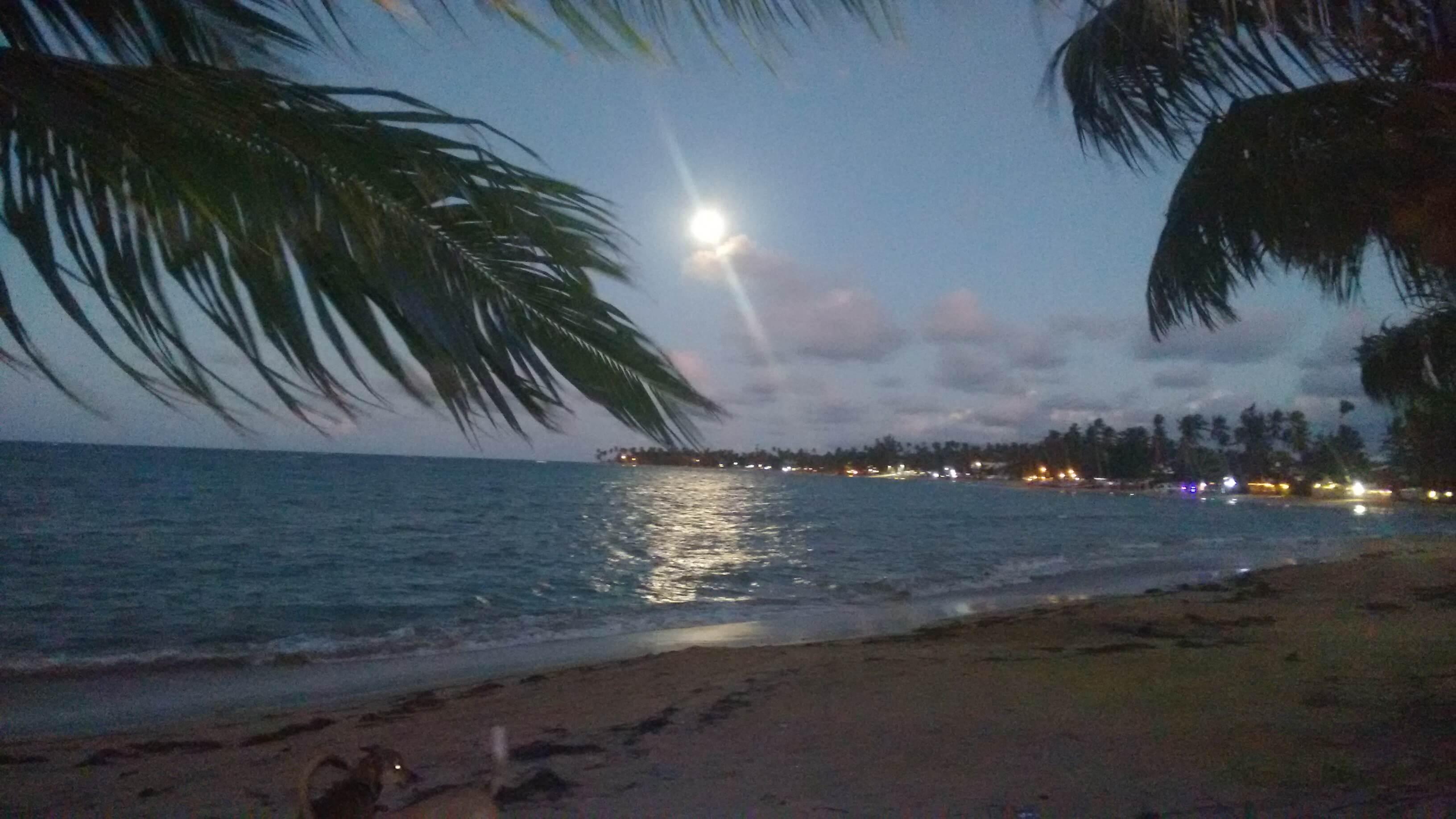 Las Terrenas-Moon Rising