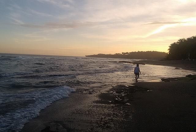 Playa Najayo Beach Walking