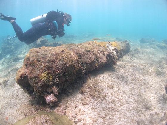 Scuba Diving from Casa De Campo Captain Kidd